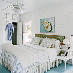 White cottage bedroom | by decorology