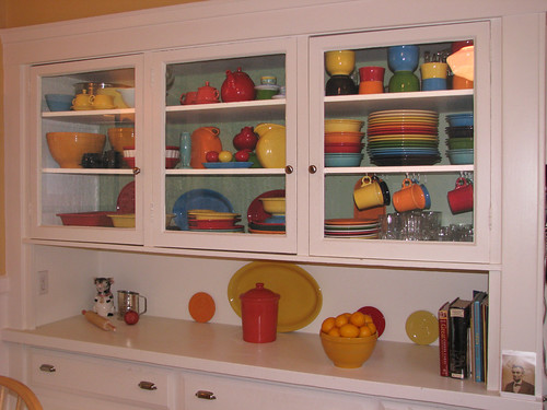My Fiesta filled cabinets | by The Jaundiced Eye