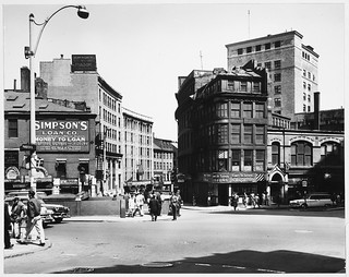 Scollay Square From Pemberton Square Looking Across to Cornhill Street | by MIT-Libraries