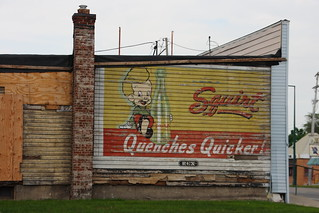 Vintage Squirt soda pop ad / mural.  Likely from the 1940's - 1950's | by slworking2