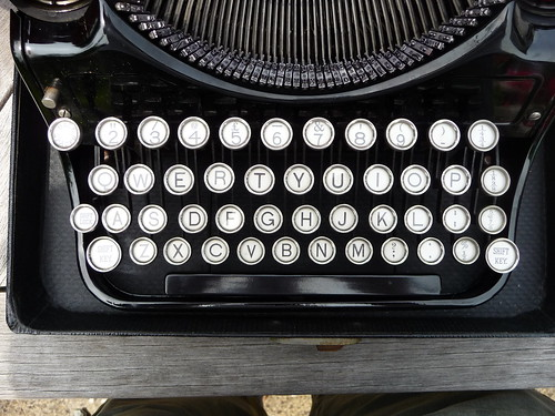 "No ""1"" key on the typewriter! 