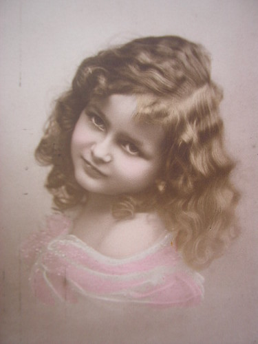 Vintage young girl. | by pollyanna.uk