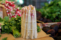 white asparagus | by David Lebovitz
