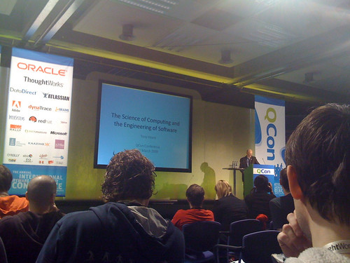 QCon London keynote, Tony Hoare | by danny_l