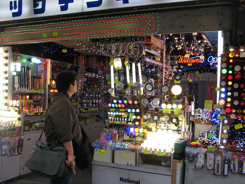 the shiniest stall in Akihabara | by ranjit