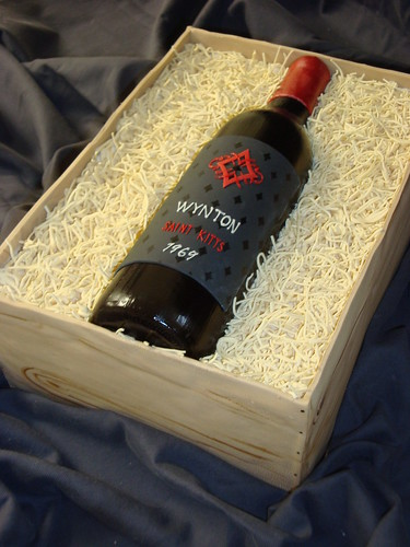 How To Make Wine Bottle Cake