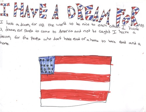 i have a dream | by 5B@MAS