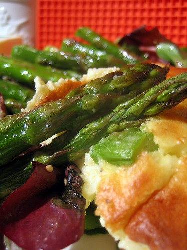 Cheese and Asparagus Souffle 032 | Cheese and Asparagus Souf ...