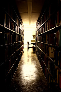 Uris Library Stacks | by eflon