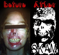 before and after Dog at my face SKAM | by SKAM sticker
