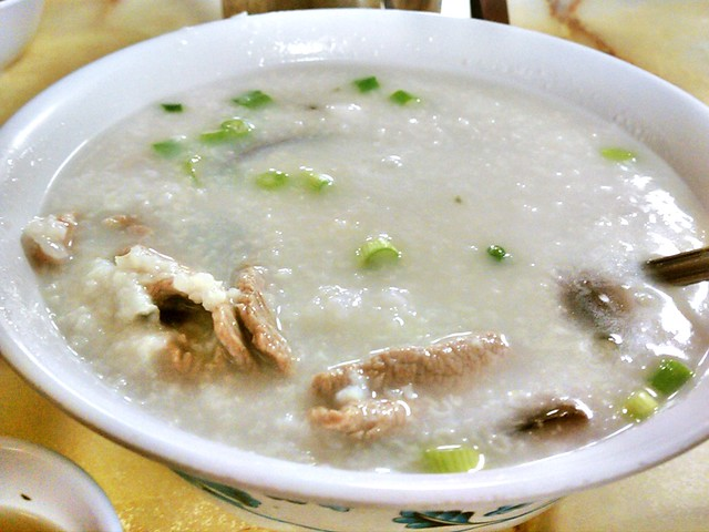 Congee foods to try in hong kong