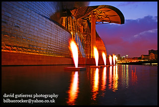 The Bilbao Guggenheim on Fire | by davidgutierrez.co.uk
