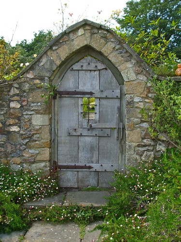 Door to secret garden paul taylor flickr