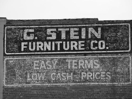 G Stein Furniture Co This Old Paint On Brick Sign Is Loc Flickr