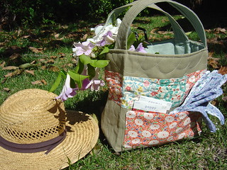 Quilted Garden Tote | by alissahcarlton