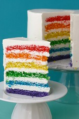rainbow cake | by The Sugar Monster