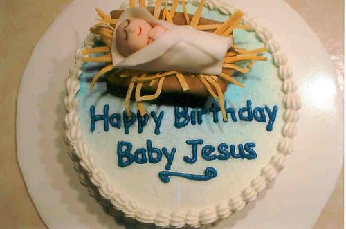 Images Of Happy Birthday Jesus Cakes