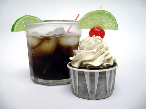 Rum and coke cupcakes 1 flickr photo sharing for White rum with coke