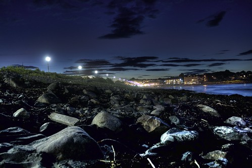 York Beach at Night HDR | by cseward