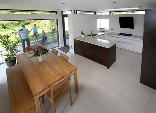 Gardenroom Brookfield Modern House Extension Bespoke Interior Designed Kitchen