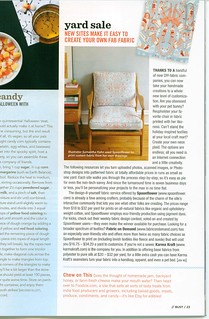 BUST Magazine article on Spoonflower | by Spoonflower Fabrics