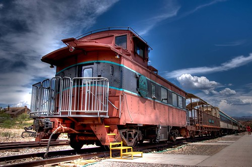 Verde Canyon Train Caboose | by Evan Gearing (Evan's Expo)