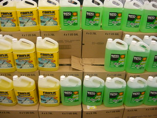 Green and Yellow AntiFreeze Walmart | by PinkMoose
