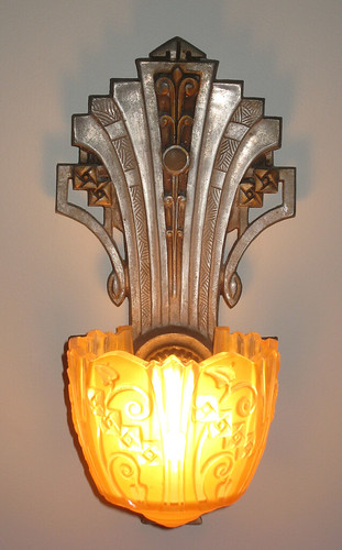 1930 s Art Deco Sconces Flickr - Photo Sharing!