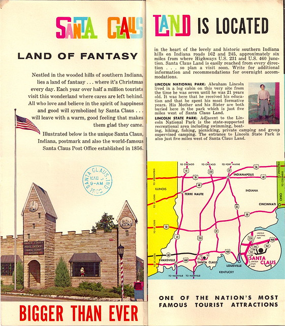 Santa Claus Land Brochure 2