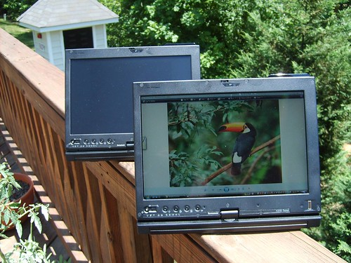 ThinkPad X200 Tablet outdoor display | by lenovophotolibrary