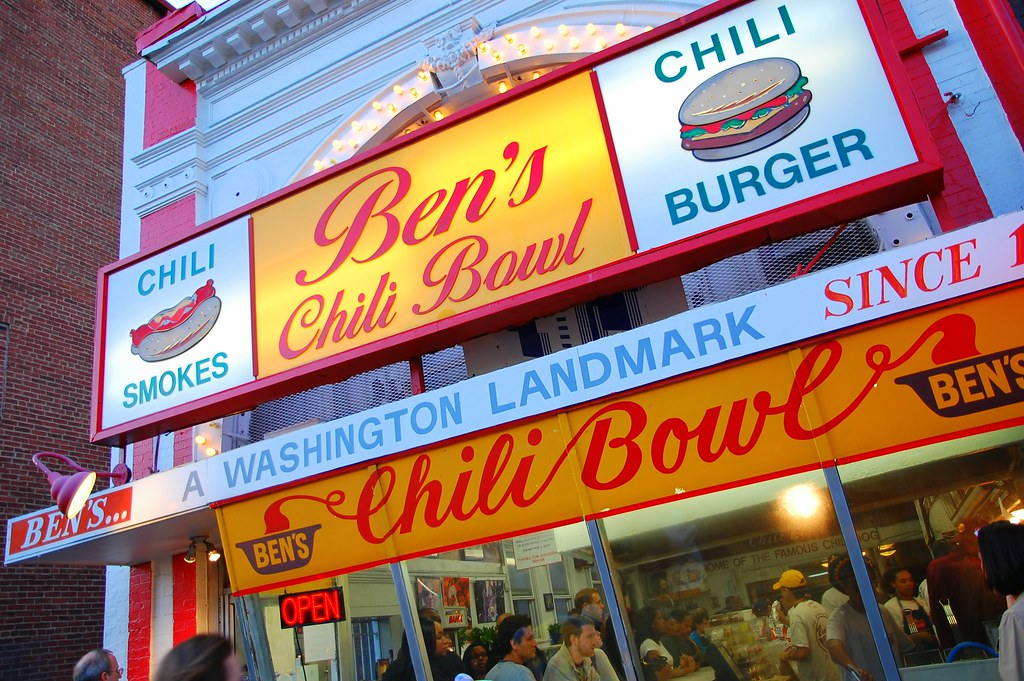Ben's Chili Bowl on U Street, DC. Photo: Steve Snodgrass, CC