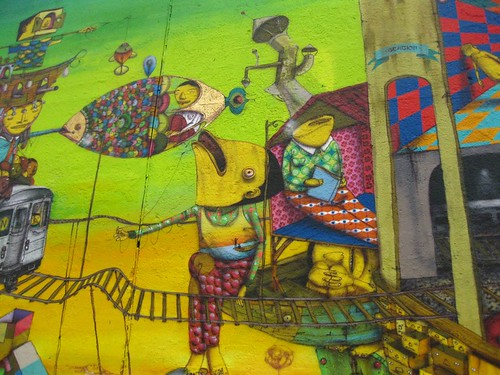 Os Gemeos Mural - NYC | by DayDreamPilot