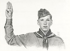 Norman Rockwell Boy Scout Pledge Pencil Flickr Photo