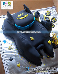 Batman Amp Batmobile Cake