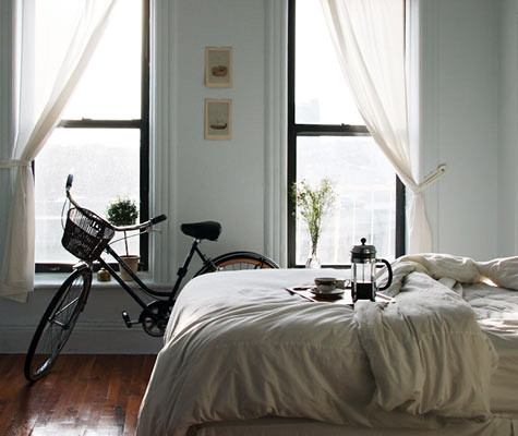 Bike in the bedroom | by notyourgoddess