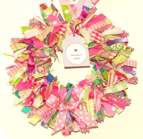 Fabric wreath Meighan Rose | by Holland Fabric House