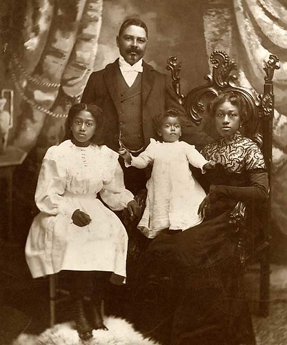 Captain William T. Shorey and family | by Black History Album