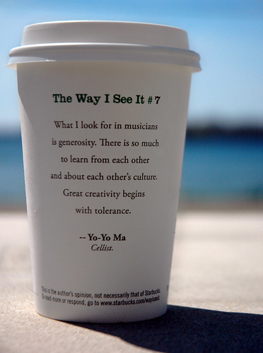 The Way I See It #7... by Yo-Yo Ma | Flickr - Photo Sharing!