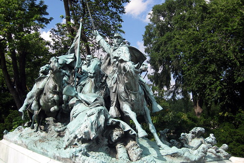 Washington DC - Capitol Hill: General Ulysses S. Grant Memorial - Cavalry Group | by wallyg