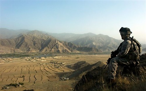 Look out over Sarhani | by The U.S. Army
