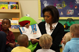 Story time with the First Lady | by The U.S. Army