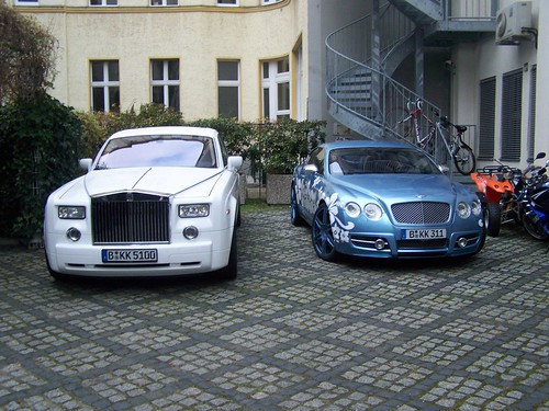 Rolls-Royce Phantom + Mansory Continental GT63 | by Damors