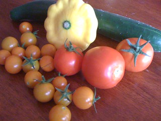 Garden Harvest 7/21/09 | by swampkitty