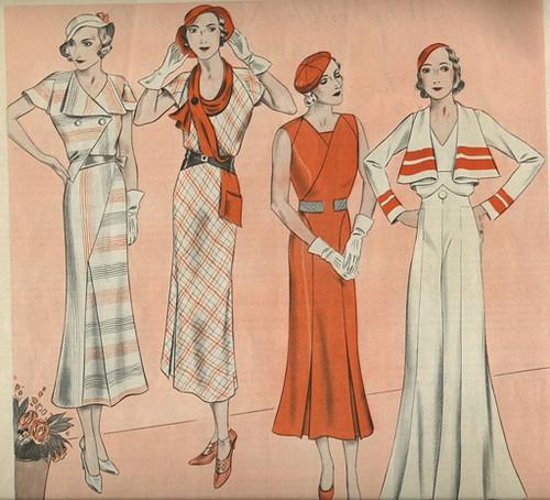 1932 Womens Fashions