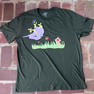 Fathers Day Creature Shirt | by Ann Tuck