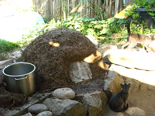 cob oven & stove in progress | Big Sur Spirit Garden | Flickr