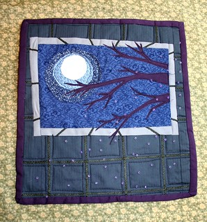 Journal Quilt: Showering with the lights off | by turning*turning