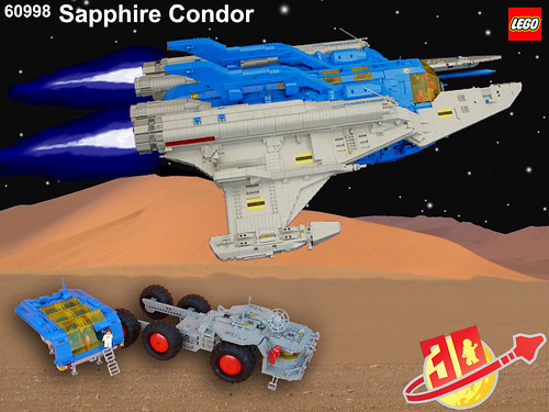LL-998 Sapphire Condor | by Lego Monster