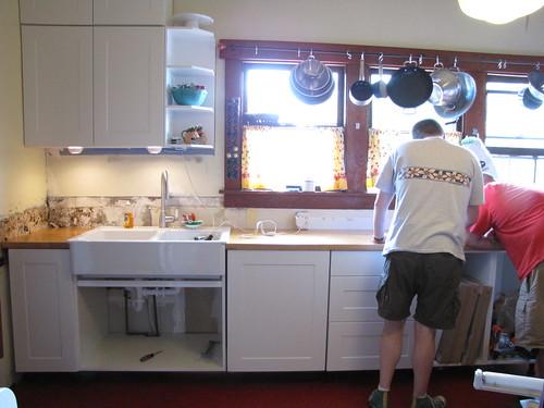Kitchen Sink Countertop One Piece