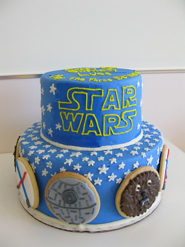 star wars cake | by megpi